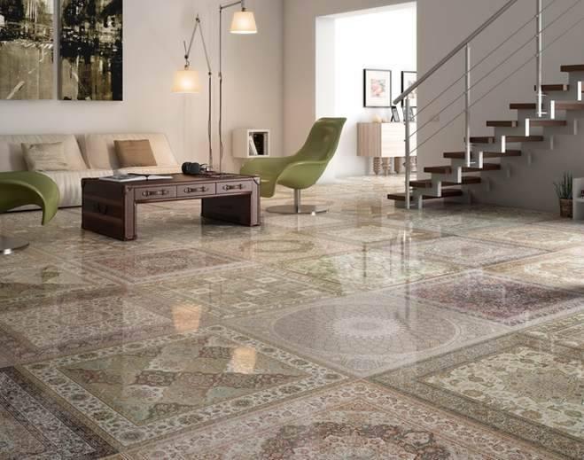 carrelage brillant en porcelaine tapisserie e18 vente de carrelage imitation ciment et bois. Black Bedroom Furniture Sets. Home Design Ideas