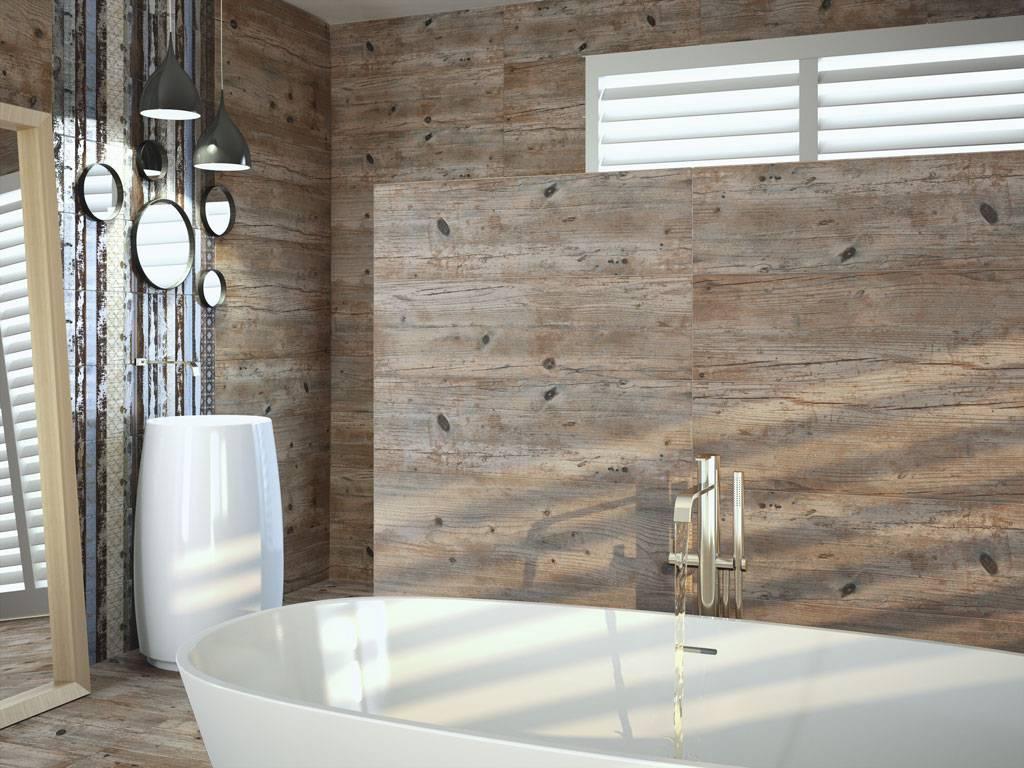 Carreaux imitation planche de bois brut salle de bain d16 vente de carrelage imitation ciment - Carrelage salle de bain bois ...