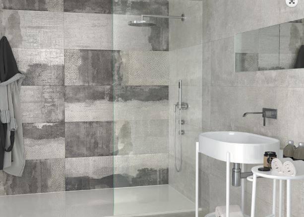 carrelage mural gris sable beton au style indistriel 40 x 120 cm jacou e24 vente de carrelage. Black Bedroom Furniture Sets. Home Design Ideas