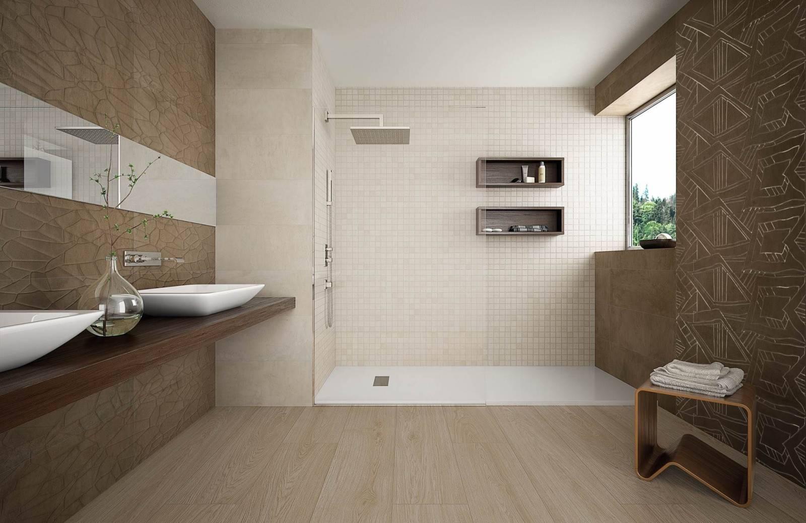 Carrelage effet papier froisse salle de bains cuisine for Carrelage a clipser 29 euros