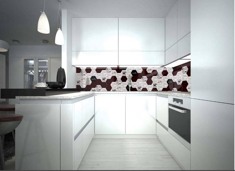faiences 3d noir et blanc cuisine et salle de bains. Black Bedroom Furniture Sets. Home Design Ideas