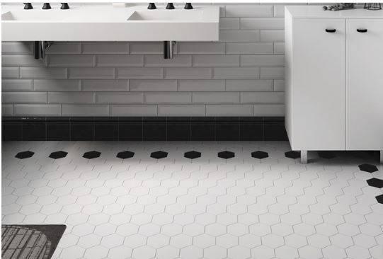 carrelage sol et mur hexagonal petit format b31 vente de