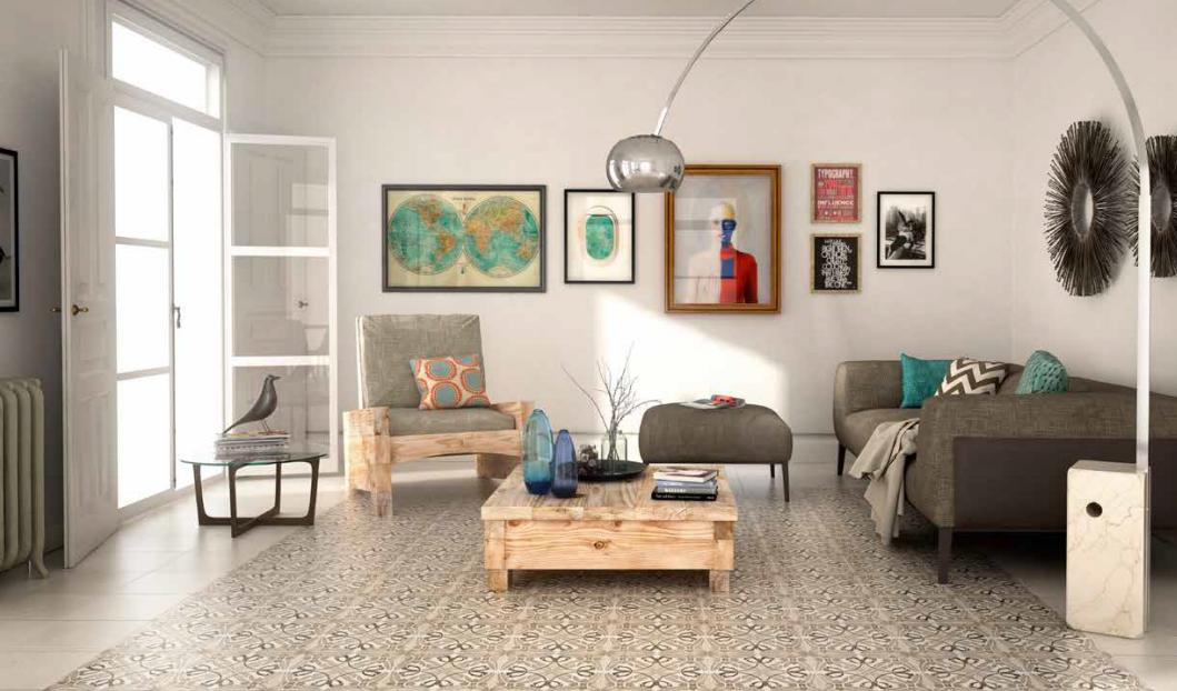 Carreaux de ciment montpellier - Ciment decoratif interieur ...