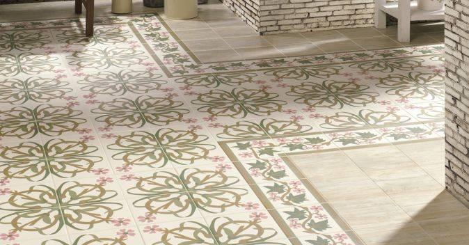 carrelage imitation ciment rose et vert olive montpellier c34 vente de carrelage imitation. Black Bedroom Furniture Sets. Home Design Ideas