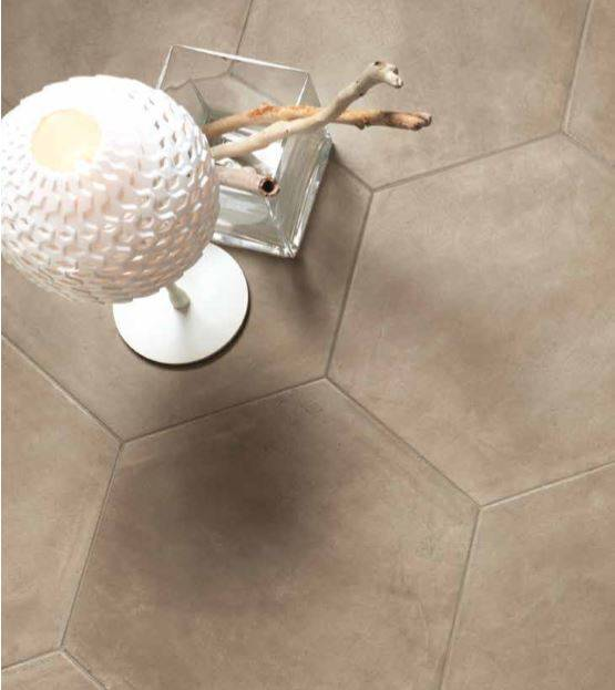 Carrelage hexagonal grand format xxl montpellier e19 for Carrelage hexagonal marbre