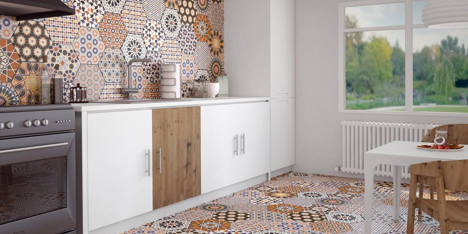 tomette hexagone d cor ciment montpellier 34 c1 vente de carrelage imitation ciment et bois. Black Bedroom Furniture Sets. Home Design Ideas