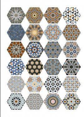 Tomette hexagone d cor ciment montpellier 34 c1 vente de for Carrelage a clipser 29 euros