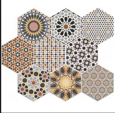 tomette hexagone d cor ciment montpellier 34 c1 vente de. Black Bedroom Furniture Sets. Home Design Ideas