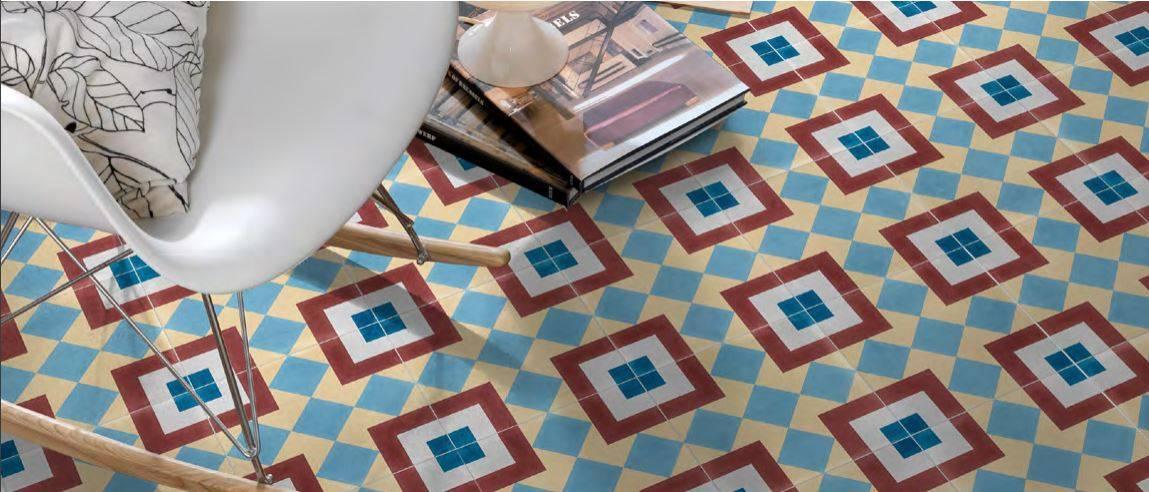 carreaux ciment bordeaux latest meilleur r novation salle. Black Bedroom Furniture Sets. Home Design Ideas