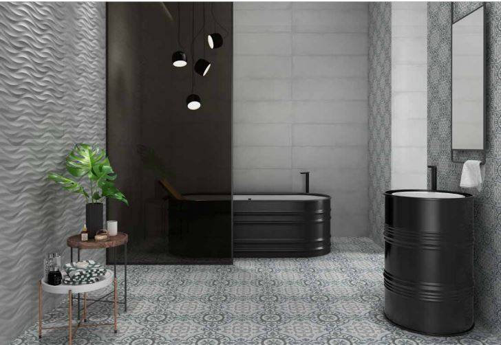 faience xxl imitation carreaux de ciment montpellier b47. Black Bedroom Furniture Sets. Home Design Ideas
