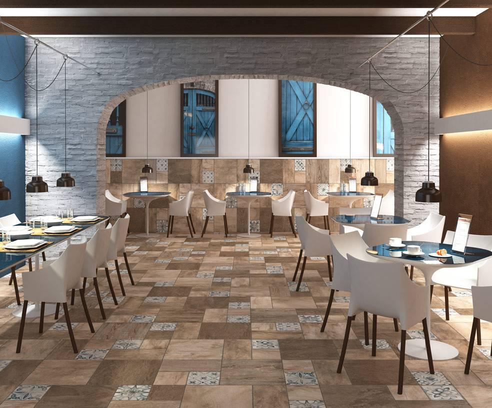 carrelage imitation parquet style patchwork d6 vente de carrelage imitation ciment et bois. Black Bedroom Furniture Sets. Home Design Ideas