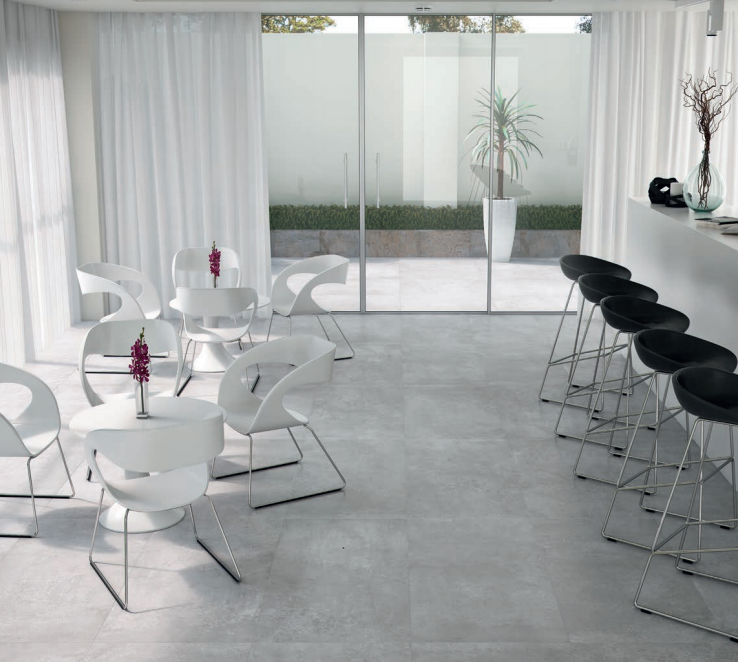 Carrelage 60x120 beton interieur exterieur montpellier for Carrelage 60x120