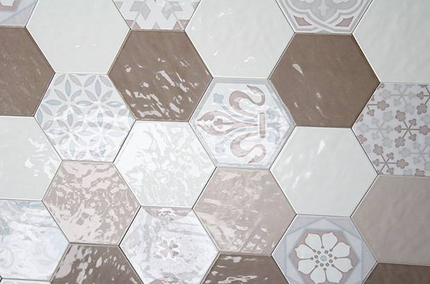 carrelage hexagonal mur couleur montpellier b16 vente de
