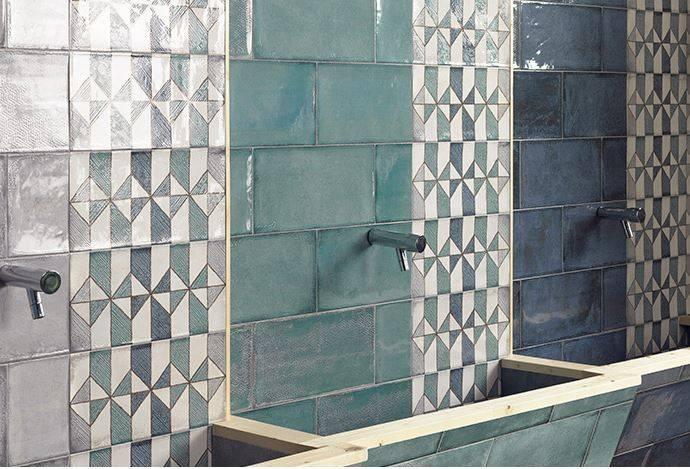 carrelage mural style oriental zellige montpellier b29 vente de carrelage imitation ciment et. Black Bedroom Furniture Sets. Home Design Ideas