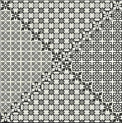Carreaux Ciment Noir Et Blanc Montpellier C38 Vente De Carrelage
