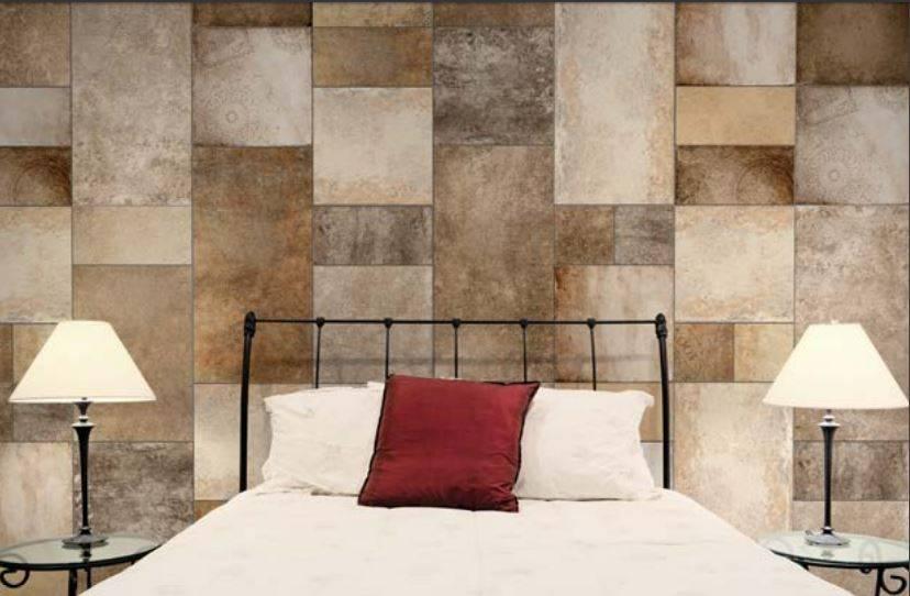 Carrelage mural carre en bois cameleon montpellier d23 for Carrelage mural decoratif