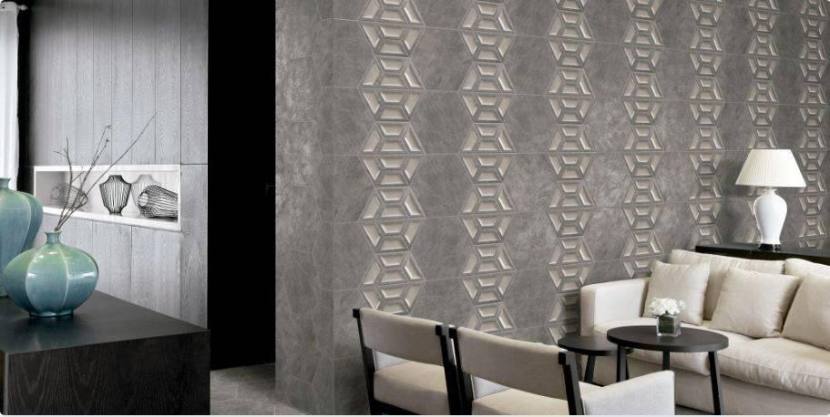 carrelage mural hexagonal 3d effet ciment ou metallise jacou a21 vente de carrelage imitation. Black Bedroom Furniture Sets. Home Design Ideas