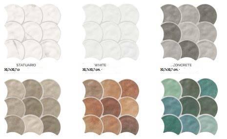 carrelage zellige ecaille de poisson mur et sol jacou b49 vente de carrelage imitation ciment. Black Bedroom Furniture Sets. Home Design Ideas