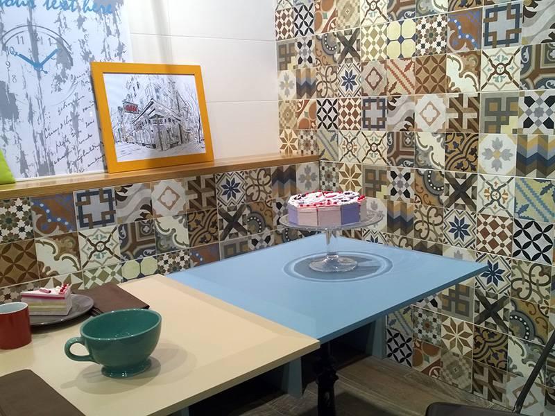 Carrelage imitation ciment mix couleurs et motifs for Carrelage 93