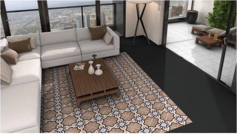 carrelage imitation ciment rose poudr format 25 x 25 cm jacou pr s de montpellier c37. Black Bedroom Furniture Sets. Home Design Ideas