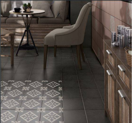 CARRELAGE IMITATION CIMENT GRIS BLANC PARIS 75