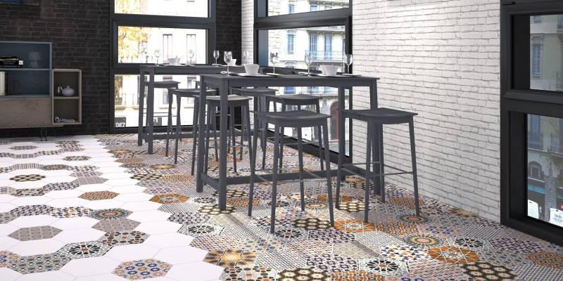Vente de carrelage imitation ciment et bois à Montpellier - LE COMPTOIR DE CERAM