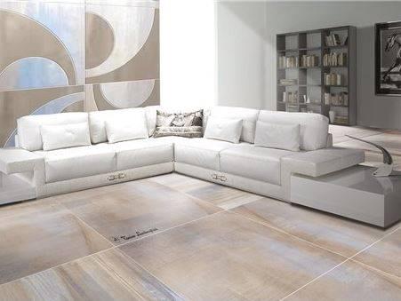 carrelage effet beton bleute tres grand format et original. Black Bedroom Furniture Sets. Home Design Ideas